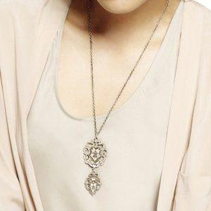 Jewelmint Cavalier Crest Pendant Necklace